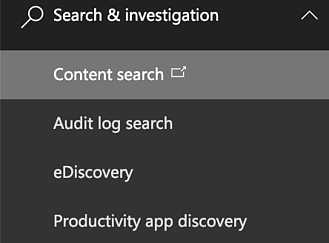 content-search-investigation