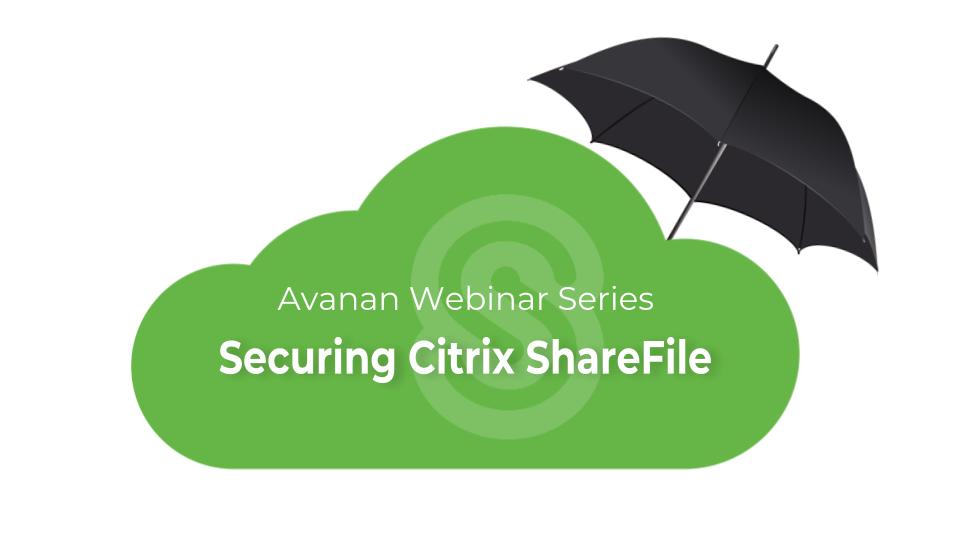 Securing Citrix Sharefile