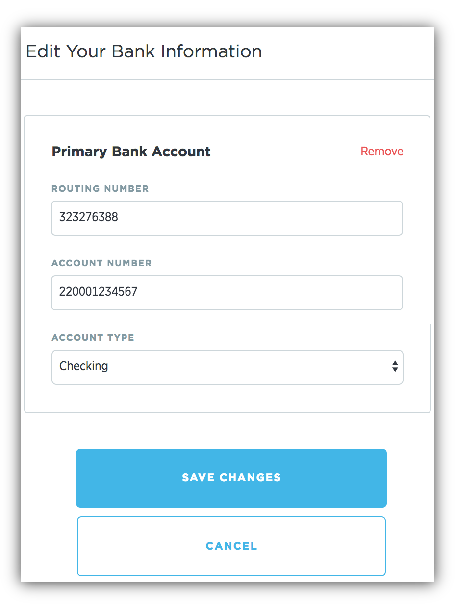Bank Account Infomation Attack