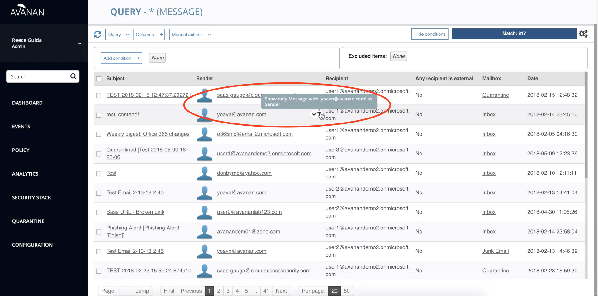identify a compromised Office 365 account