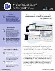 Avanan-for-Microsoft-Teams-cover