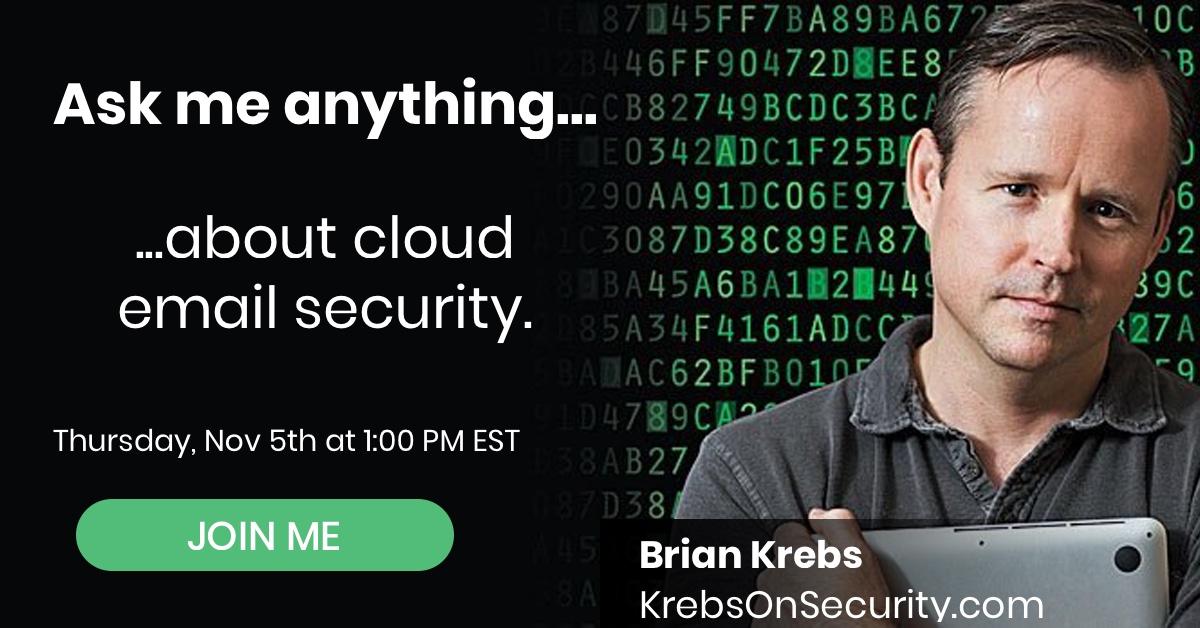 Brian Krebs: Ask Me Anything