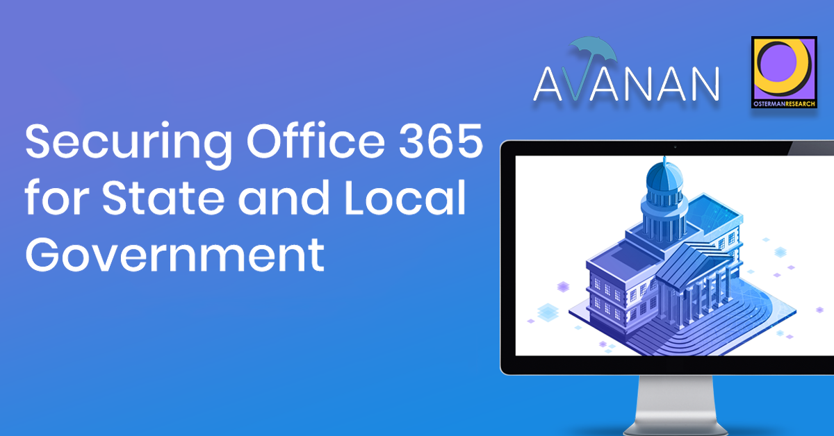 Securing Office 365 for State and Local Government