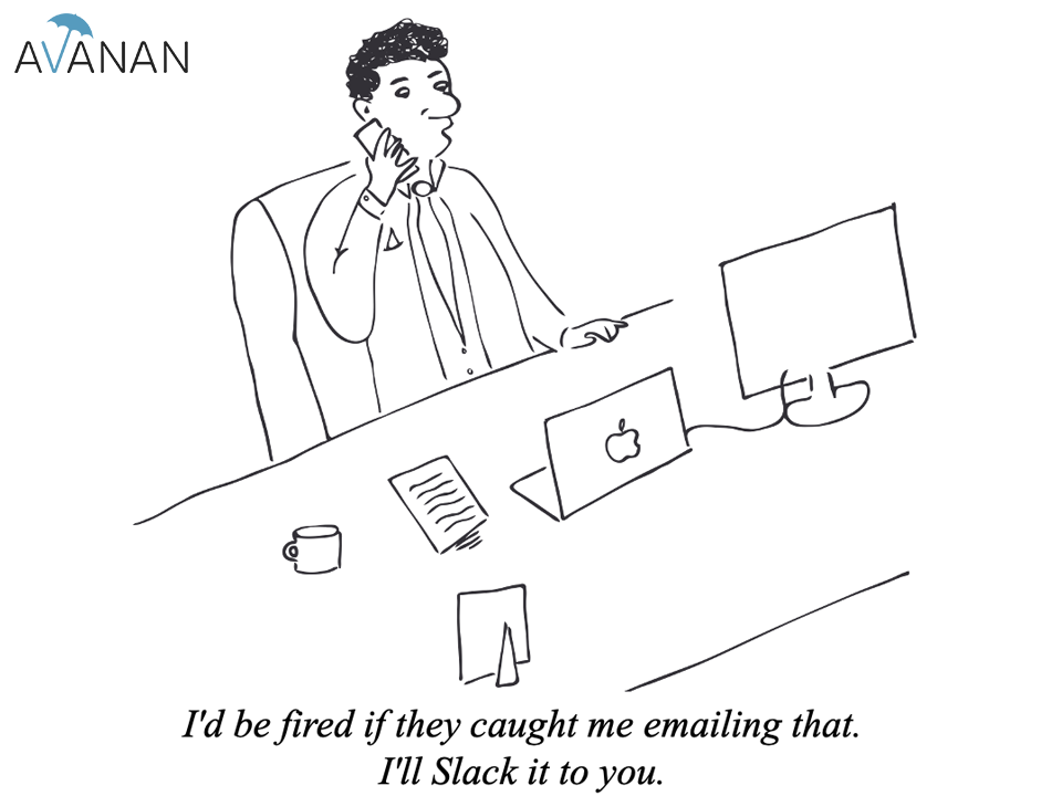 I'd be fired if they caught me emailing that. I'll Slack it to you.