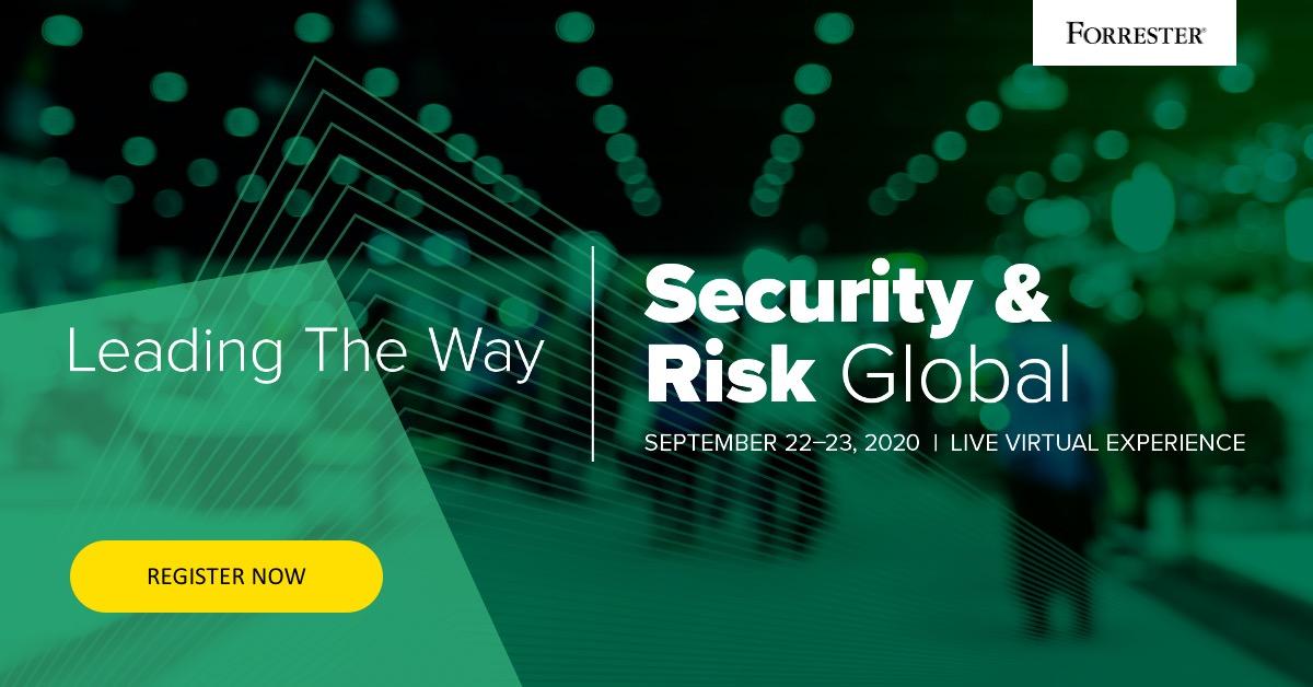 Forrester Security & Risk 2020