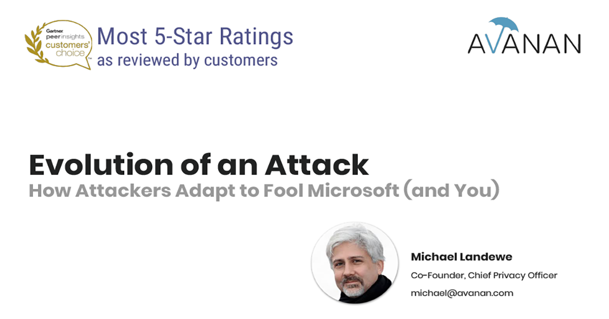 Evolution of an Attack: How Attackers Adapt to Fool Microsoft