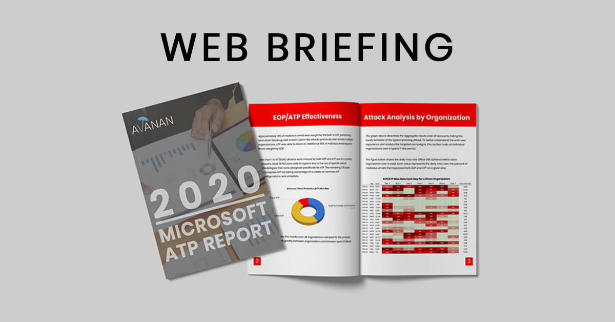 Key Findings from the 2020 Microsoft ATP Report